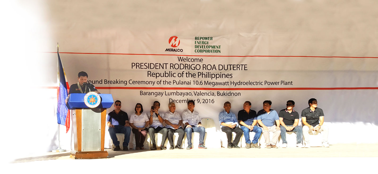 Dexter Tiu Pure Energy Holdings Corporation Groundbreaking